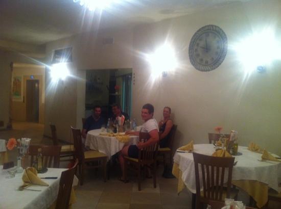 Hotel Montegrappa: dinner