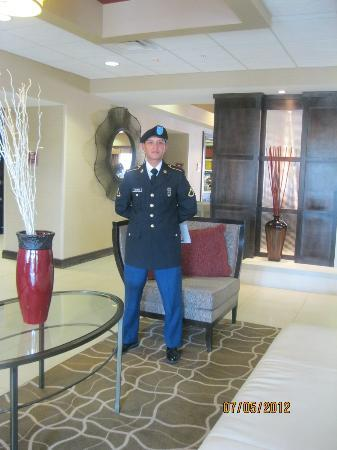 Homewood Suites by Hilton Lawton: hotel lobby