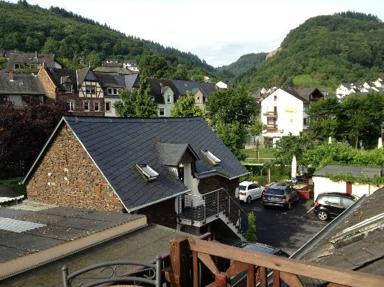Hotel-Restaurant Stumbergers : First view from balcony