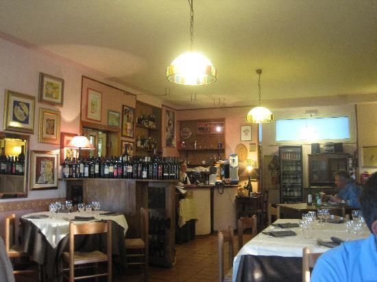 Torgiano, Italia: Dining Room
