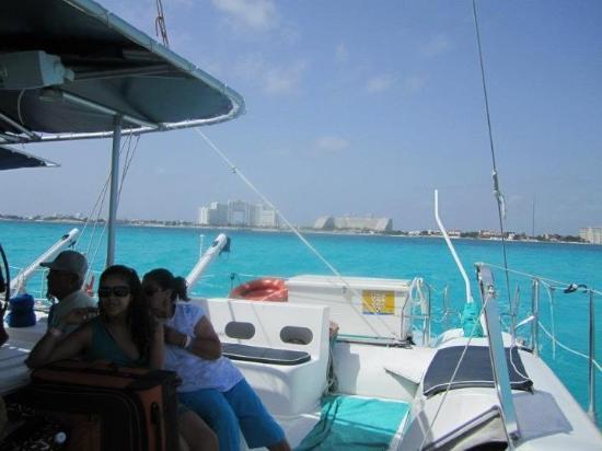 Sea Passion Catamaran: on the catamaran