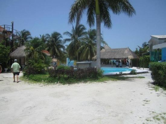 Sea Passion Catamaran: the lunch spot where you stop and eat and hang out for a bit after snorkeling