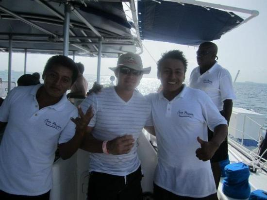 Sea Passion Catamaran: cool people!
