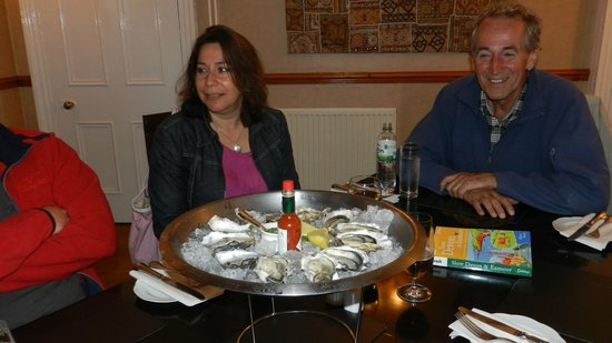The Cafe: Oysters were only the beginning.