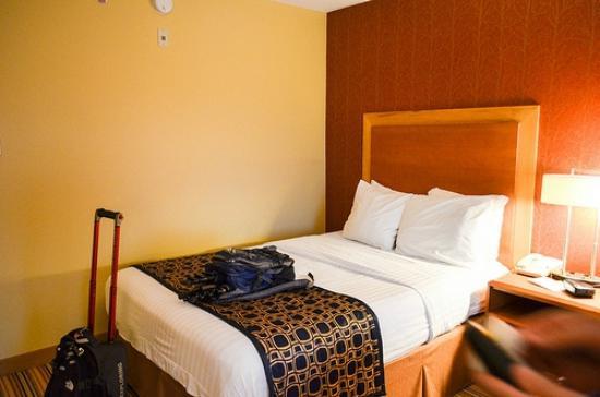 Fairfield Inn & Suites Charlottesville North: Room