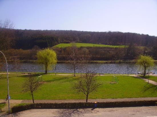 Hotel Restaurant Simmer: vue sur la Moselle