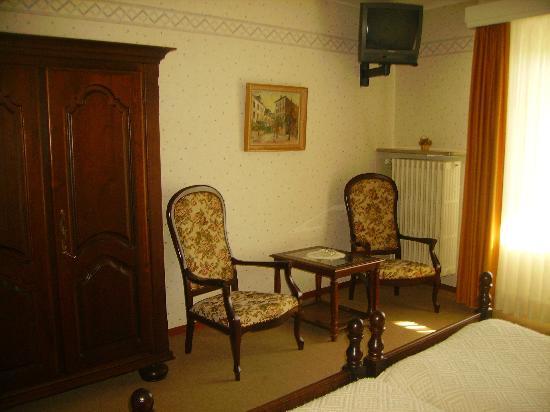 Hotel Restaurant Simmer: Chambre avec vue sur la Moselle