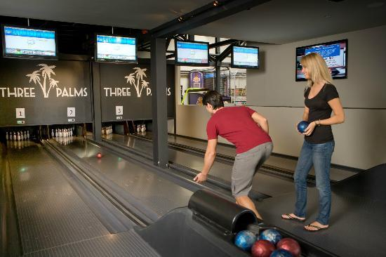 Three Palms Avalon Arcade: Island Bowling-you've got to try it!