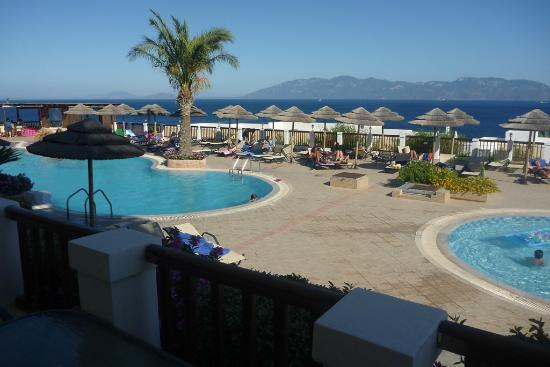 Dimitra Beach Hotel: View from our room