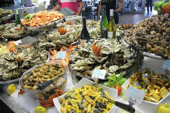 Marseillan, France: Buffet fruits de mer à volonté. Jym