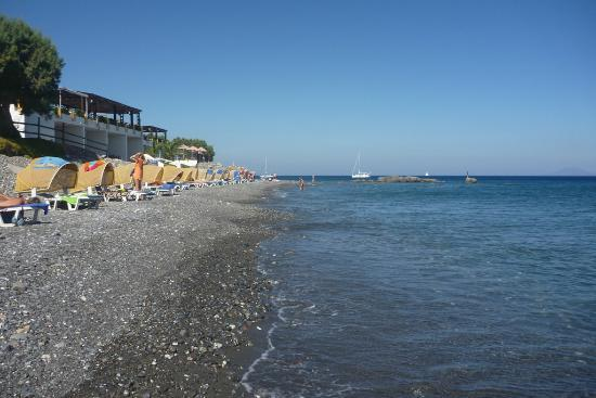 Dimitra Beach Resort Hotel: Hotel beach