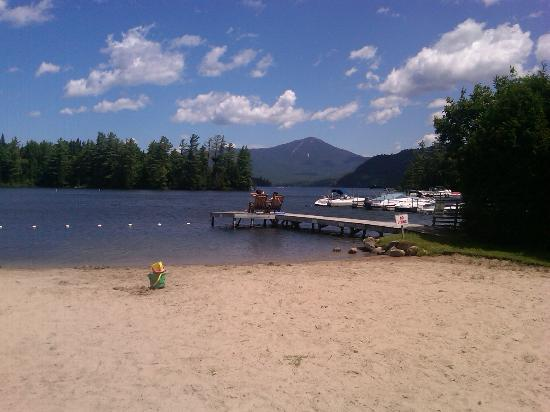 Lake Placid Club Lodges: Mirror lake private beach