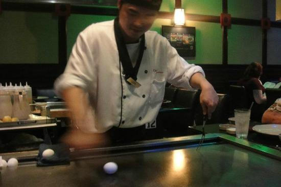 Osaka Seafood Steakhouse: Chef Jim