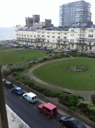 Brighton House: view from room 46