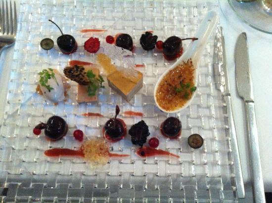 Restaurant Medici: Variationen von der Foie Gras