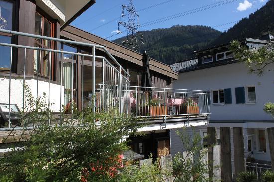 Bio-Hotel Saladina : Terrasse