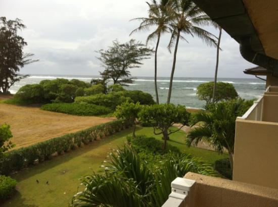 Kauai Coast Resort at the Beachboy: 3rd floor view (field side)