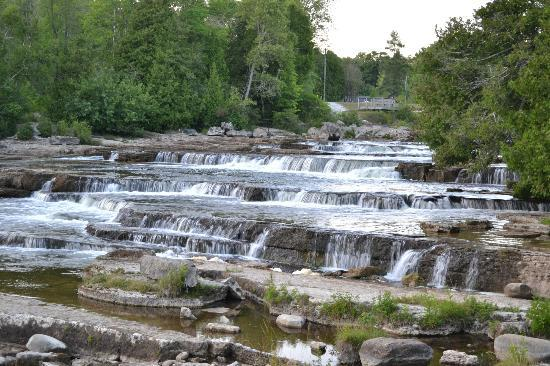 Sauble Beach, Kanada: Sauble falls