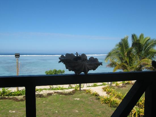 Namuka Bay Lagoon Resort: Balcony
