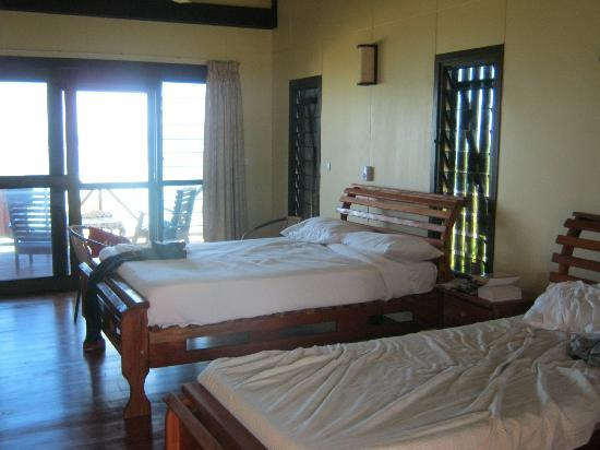 Namuka Bay Lagoon Resort: Very Comfortable Beds