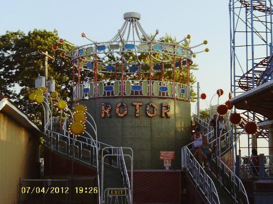 sylvan beach amusement park a rare rotor