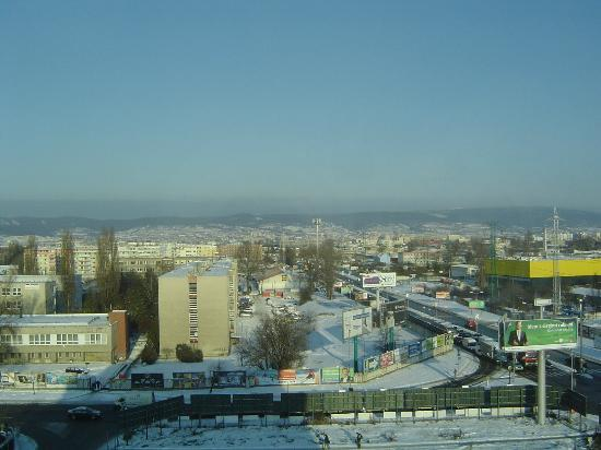 NH Bratislava Gate One: View from room