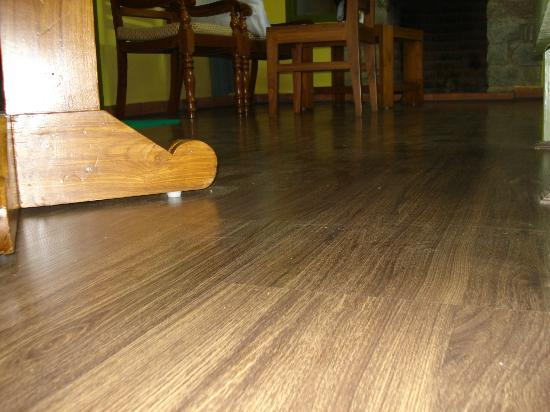 Mountain Club Resort: Complete Wooden Flooring in Suite.