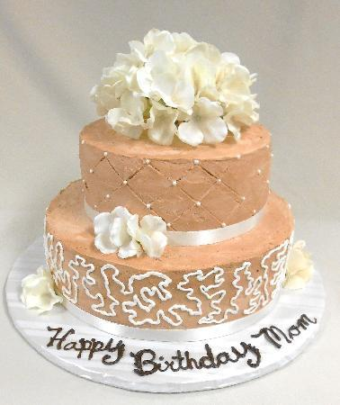 Custom Specialty Cake Moms 70th Birthday Cake Picture of