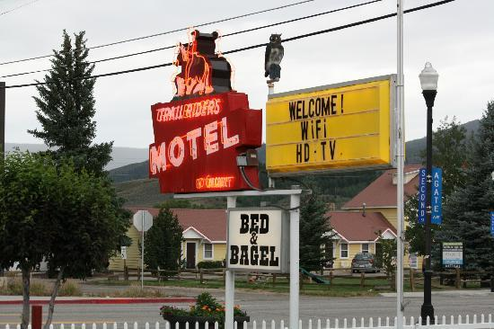 Trail Riders Motel: Trail Rider's iconic neon sign