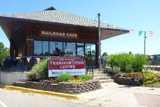 Railroad Cafe-Catch a train too!