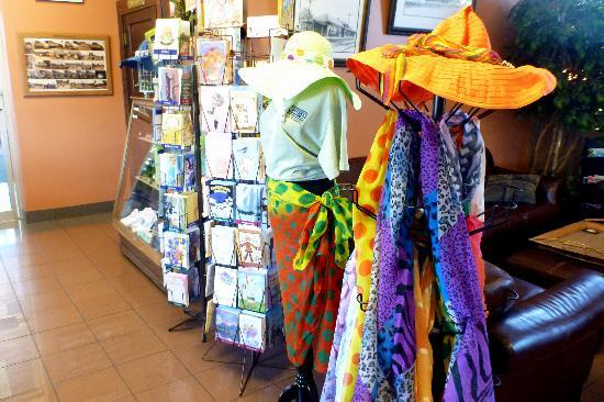 Railroad Cafe: Clothing items too...and greeting cards