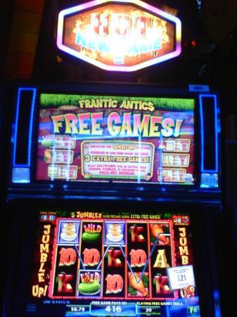 Frantic antics slot machine credit cards and gambling