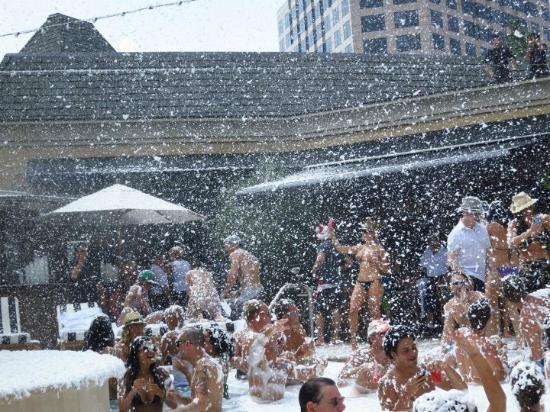 Hotel Zaza Dallas Christmas In July Pool Party