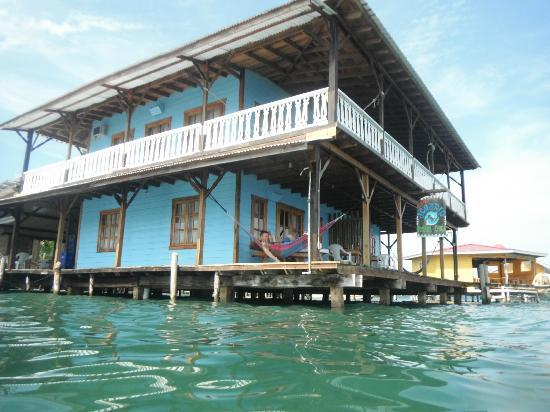 Casa Acuario: the hotel from the water