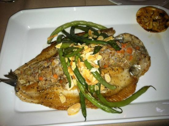 Cello's Restaurant: Crab-stuffed Trout