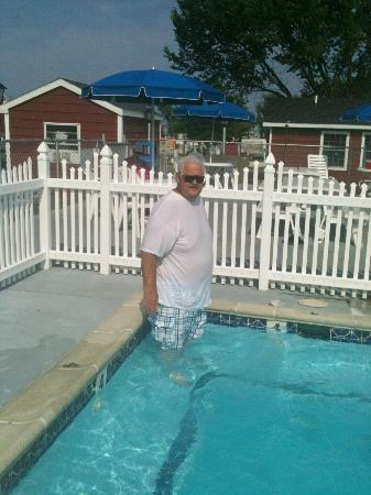 Francis Scott Key Family Resort: the outdoor spa