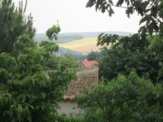 Le Clos de Clessé : View from the B&B