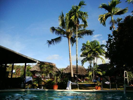 Samoan Outrigger Hotel: View from the pool