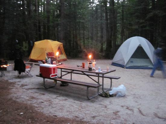 Jigger Johnson campground: Home away from home...
