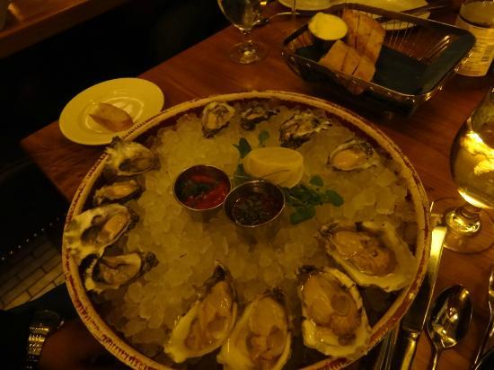 Brasserie Beck: Fresh oysters
