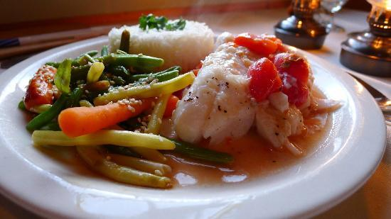 Twine Loft: Provencal Cod - Under-seasoned, lack of flavor depth, and mediocre execution