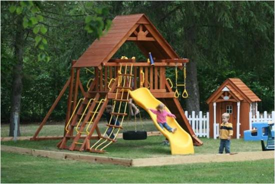The Pines of Paradise: Playscape