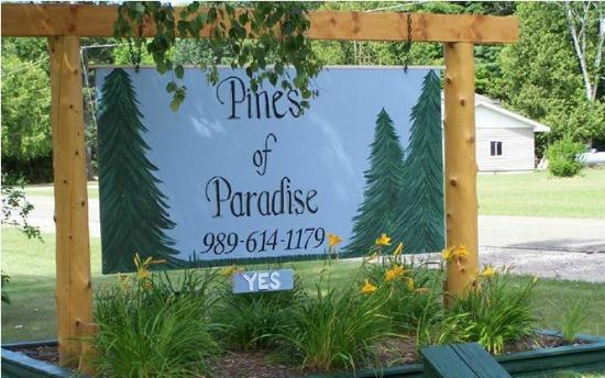 Pines of Paradise: Sign