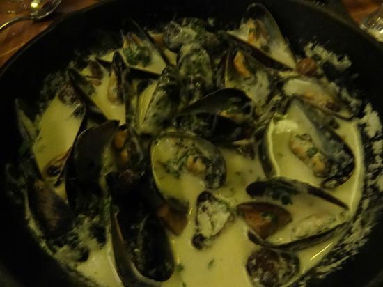 Brasserie Beck: Fennel & Chorizo Mussels