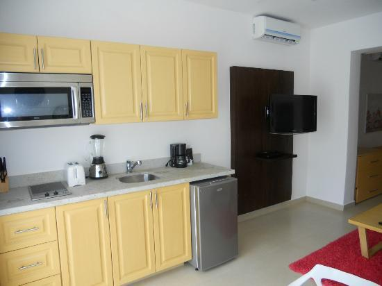 Taheima Wellness Resort & Spa: Kitchen area
