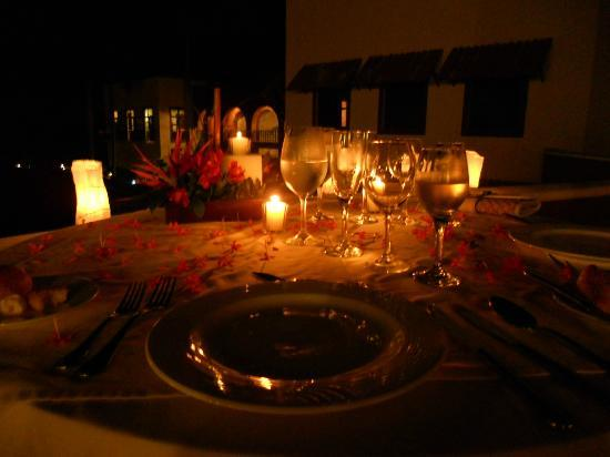 Taheima Wellness Resort & Spa: Romantic Dining Experience