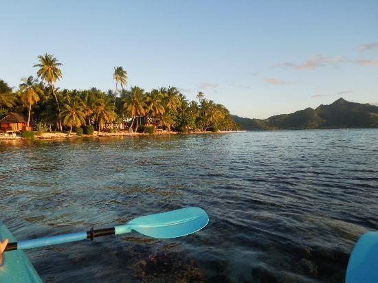 Vahine Private Island Resort: Beach Bungalows on Vahine