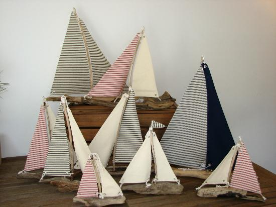 Ophiuroidea The O: By the Bay Driftwood Sailboats
