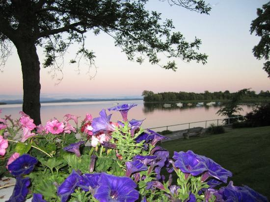 North Hero House View of Lake Champlain from Porch