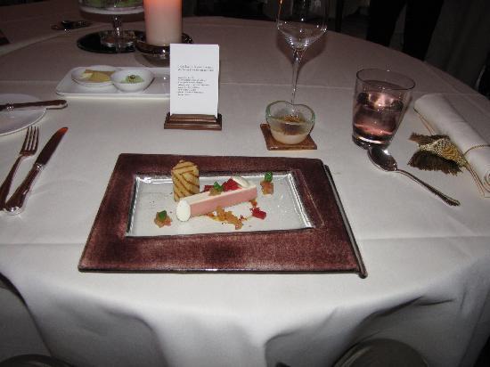 Restaurant Haerlin : goose liver parfait